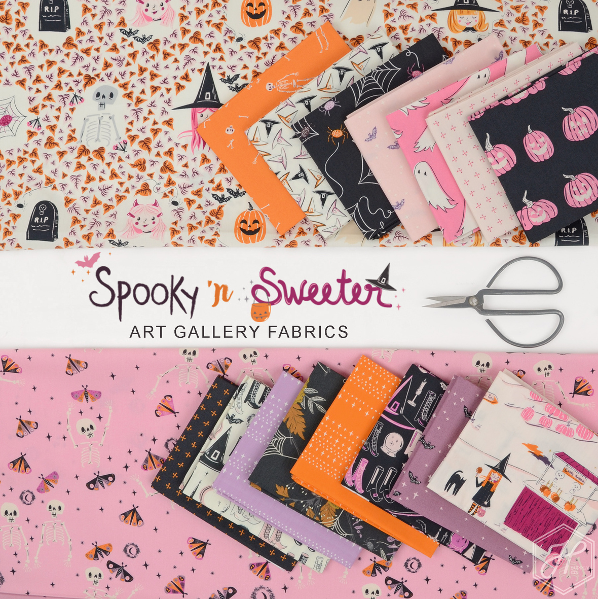 Spooky n Sweet Fabric Art Gallery at Hawthorne Supply Co.