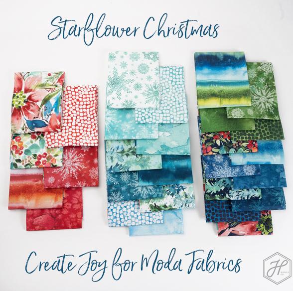 Starflower Christmas Create Joy for Moda