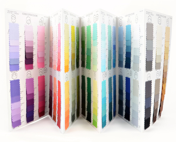 New Cotton Couture color card