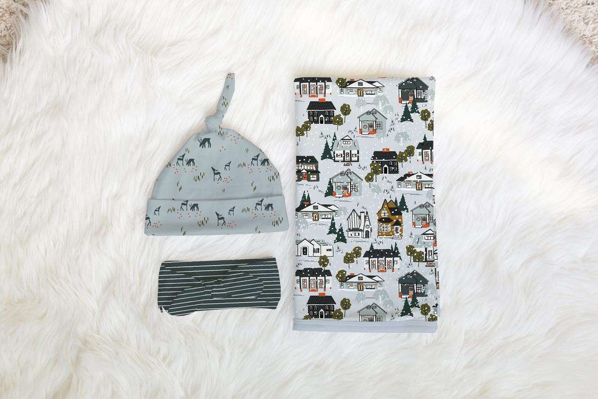 Knit Newborn Set SD 1