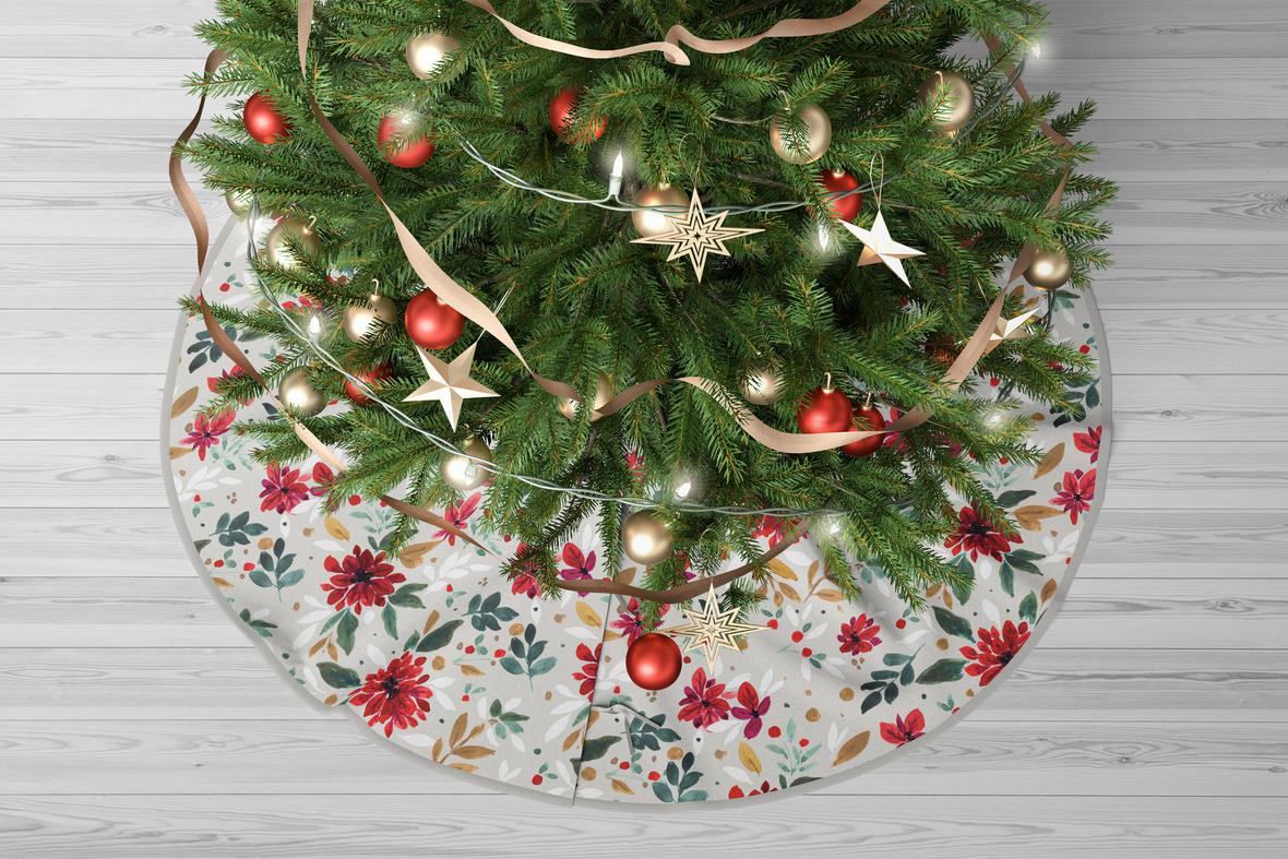 Christmas Tree Skirt Sp 5