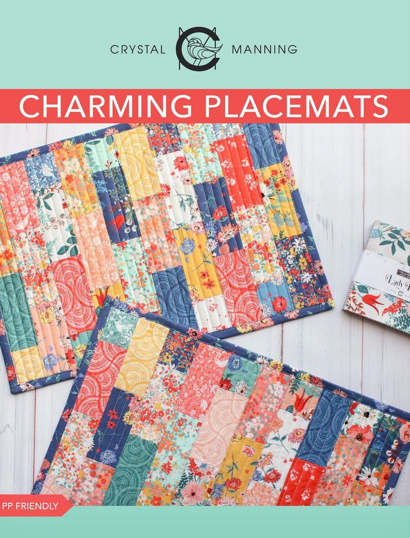 Lady Bird Placemat pattern