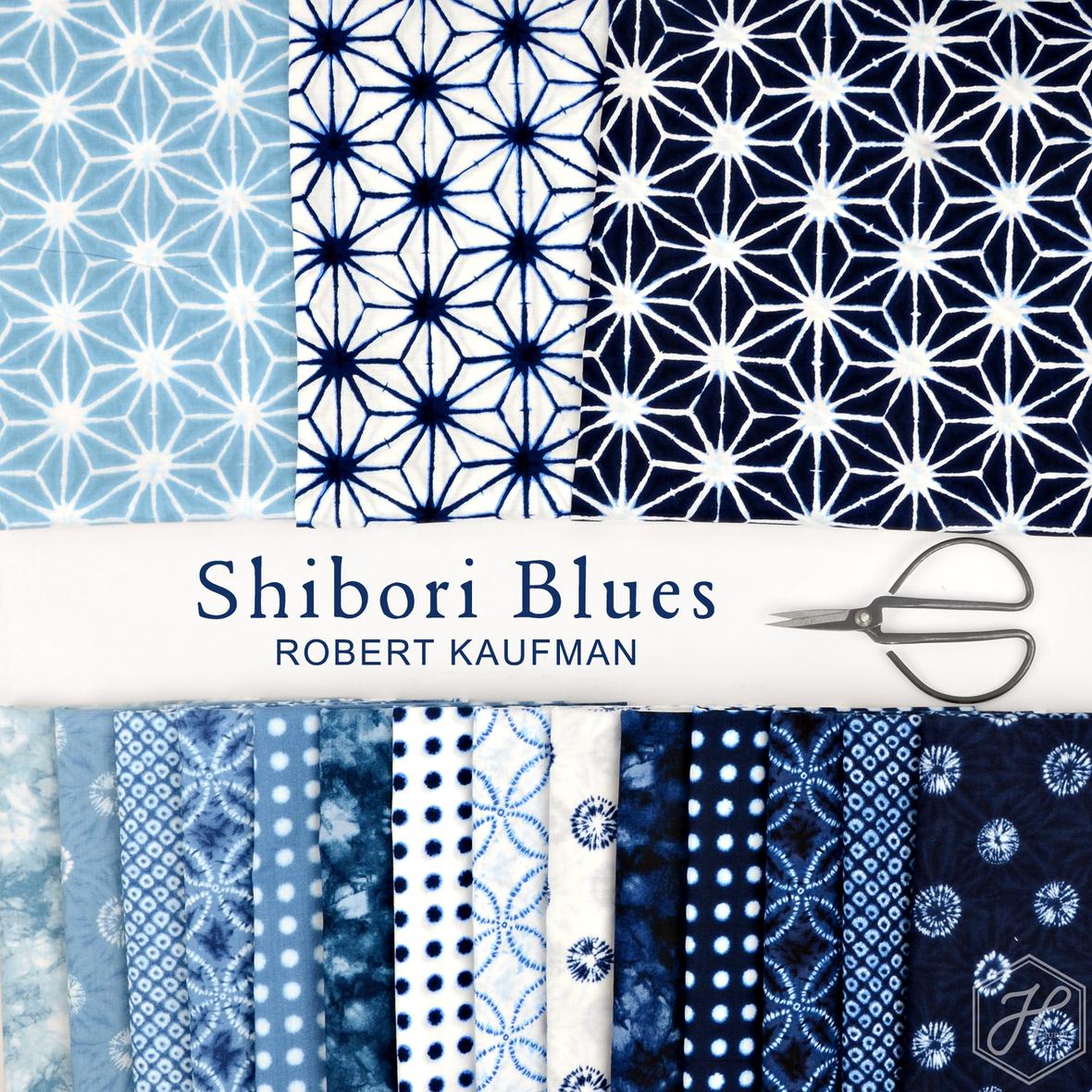 Shibori Blues Robert Kaufman at Hawthorne Supply Co