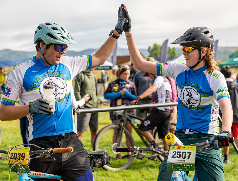 Thomas McCoy and Ansle Visser Laramie Teammate