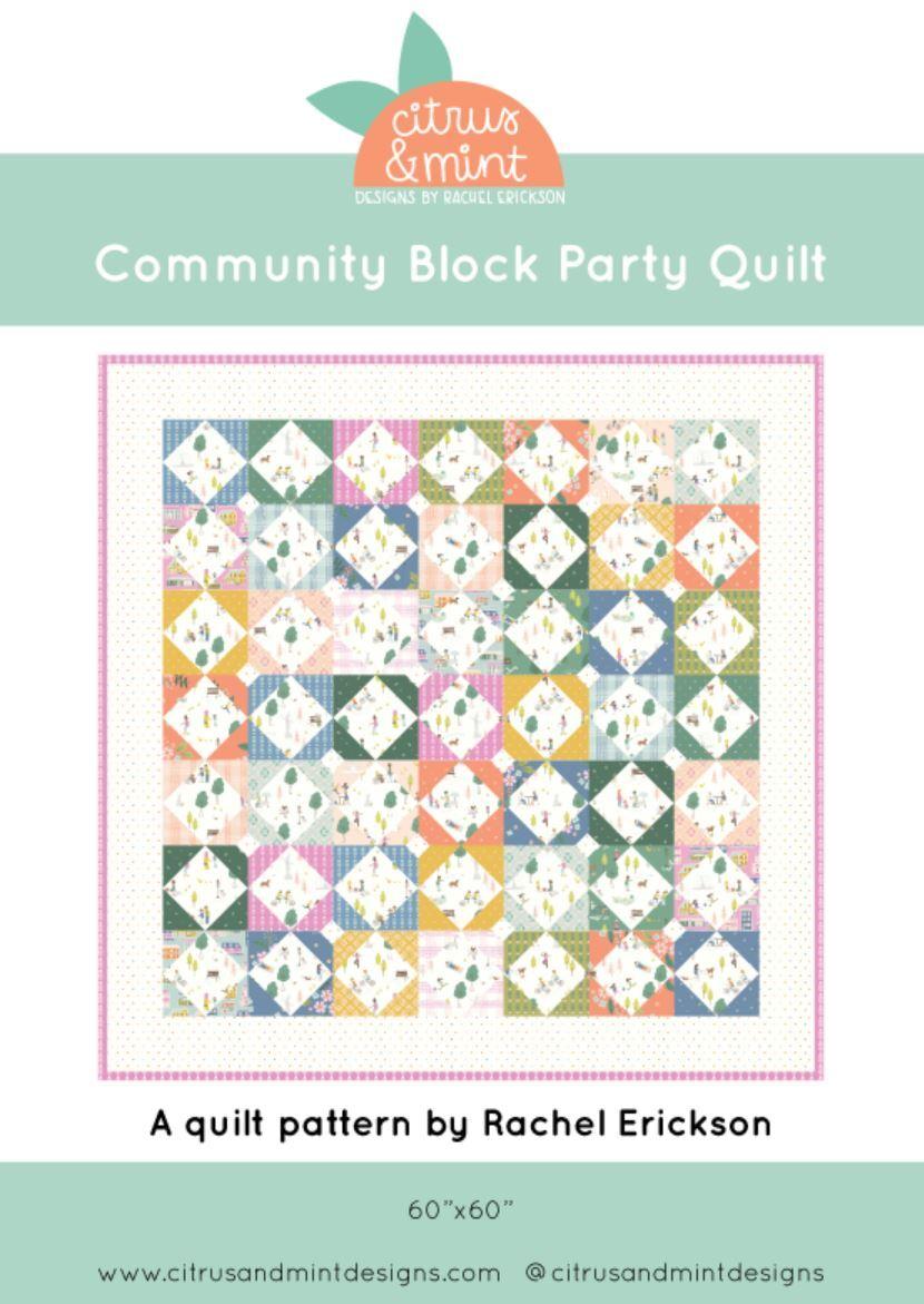 Citrus Mint Quilt Pattern