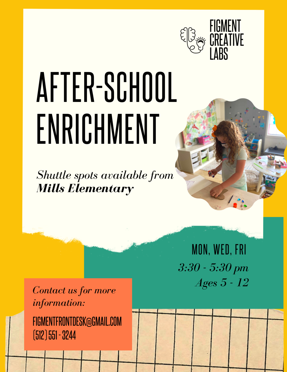 After-school Enrichment at Figment with shuttle