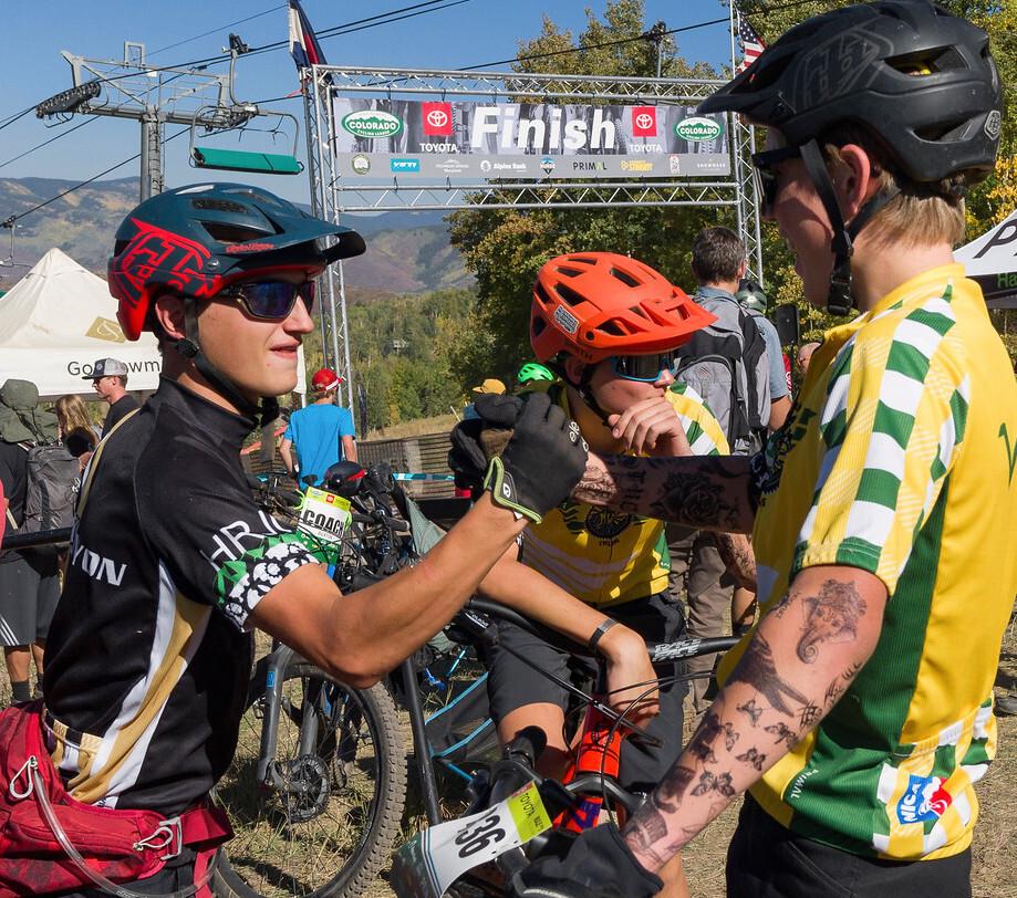 Mountain Vista Rock Canyon Soph Boys Finish