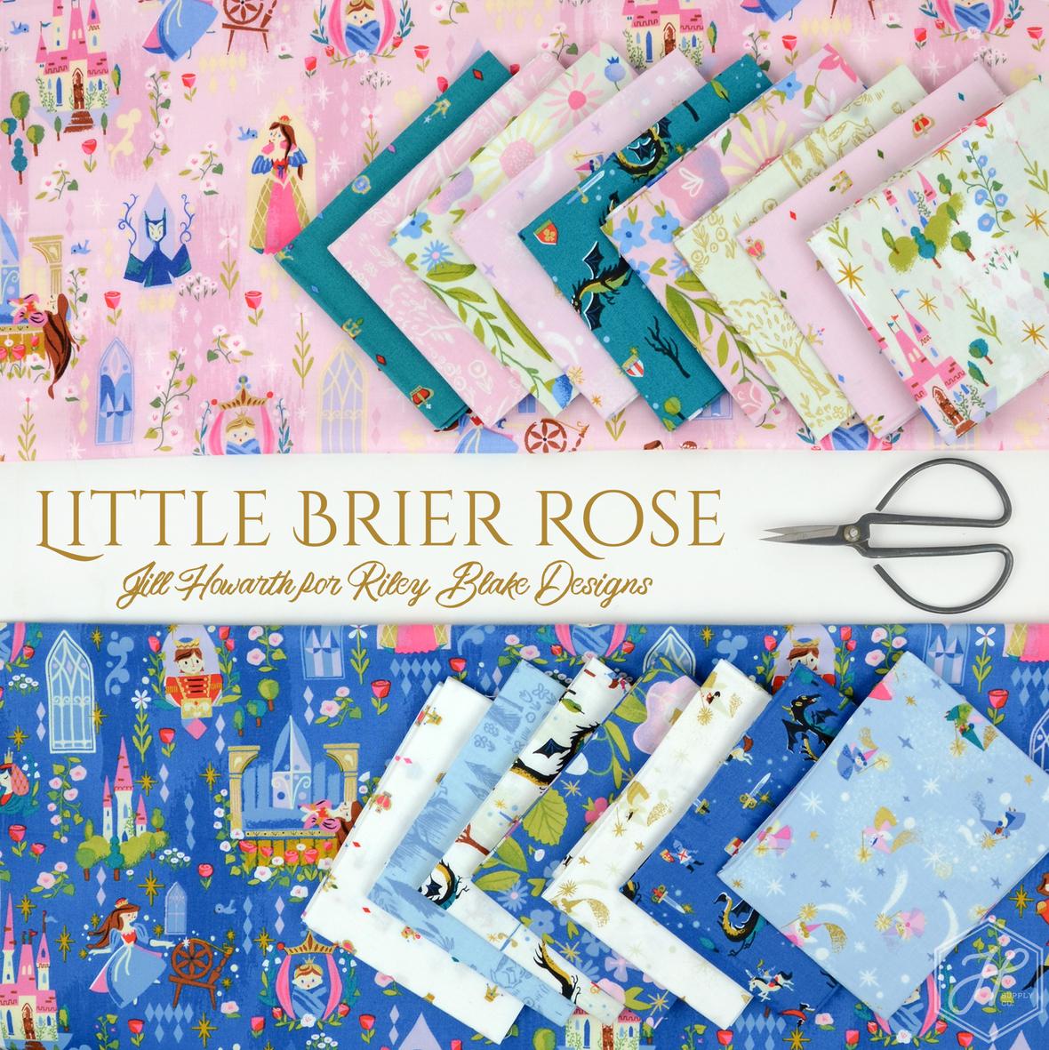 Little Brier Rose Jill Howarth for Riley Blake Designs at Hawthorne Supply Co