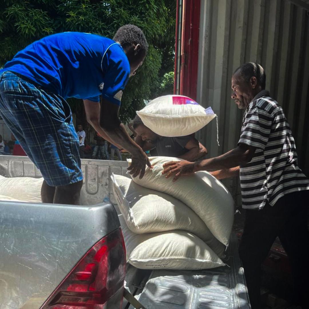 Haiti Food Distribution IG