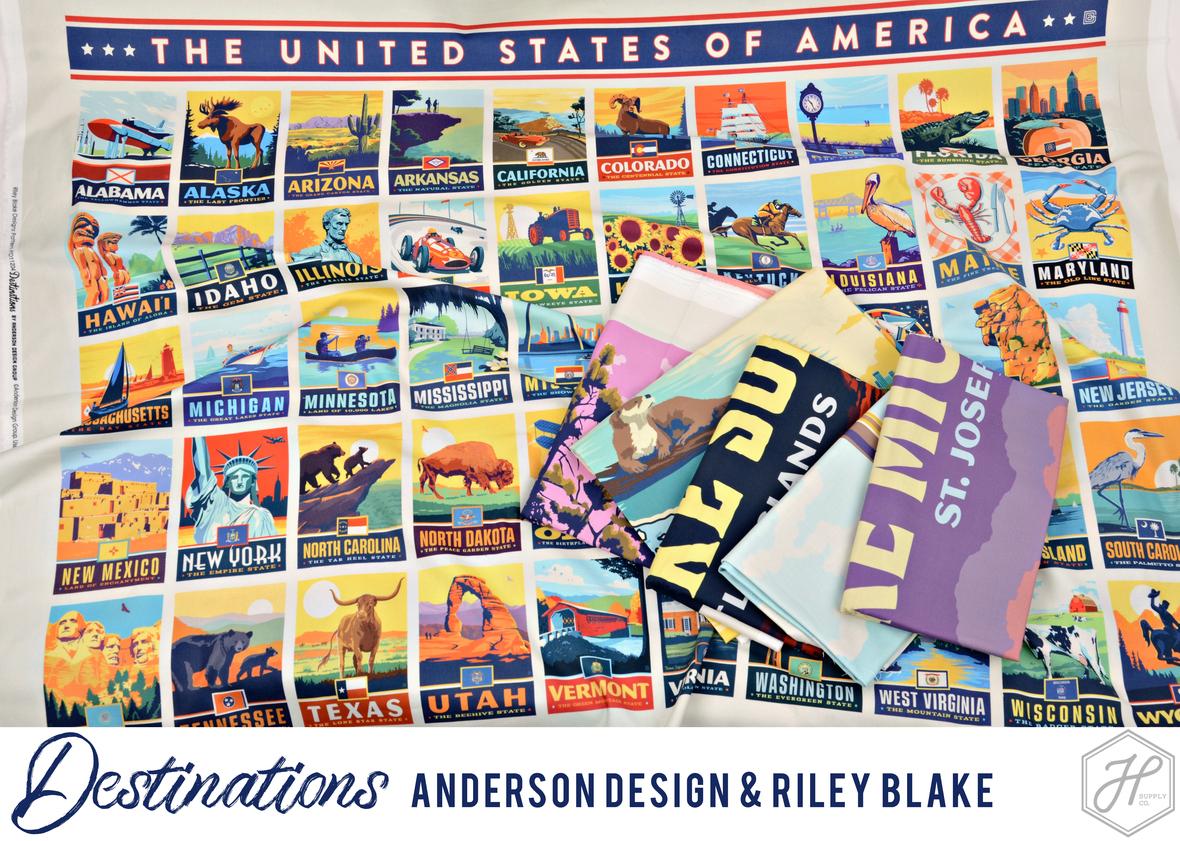 Destinations Riley Blake 5th Intallment