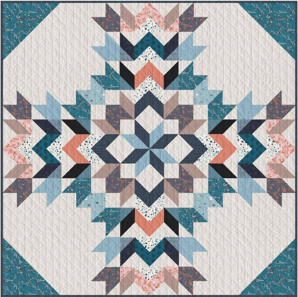Twenty fabric quilt pattern