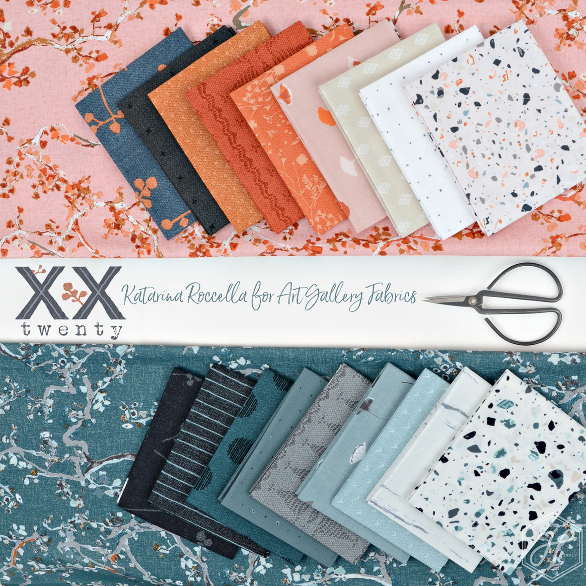 Twenty fabric Katarina Roccella for Art Gallery at Hawthorne Supply Co