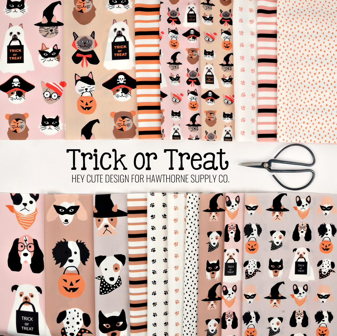 Trick or Treat Hey Cute Design for Hawthorne Supply Co