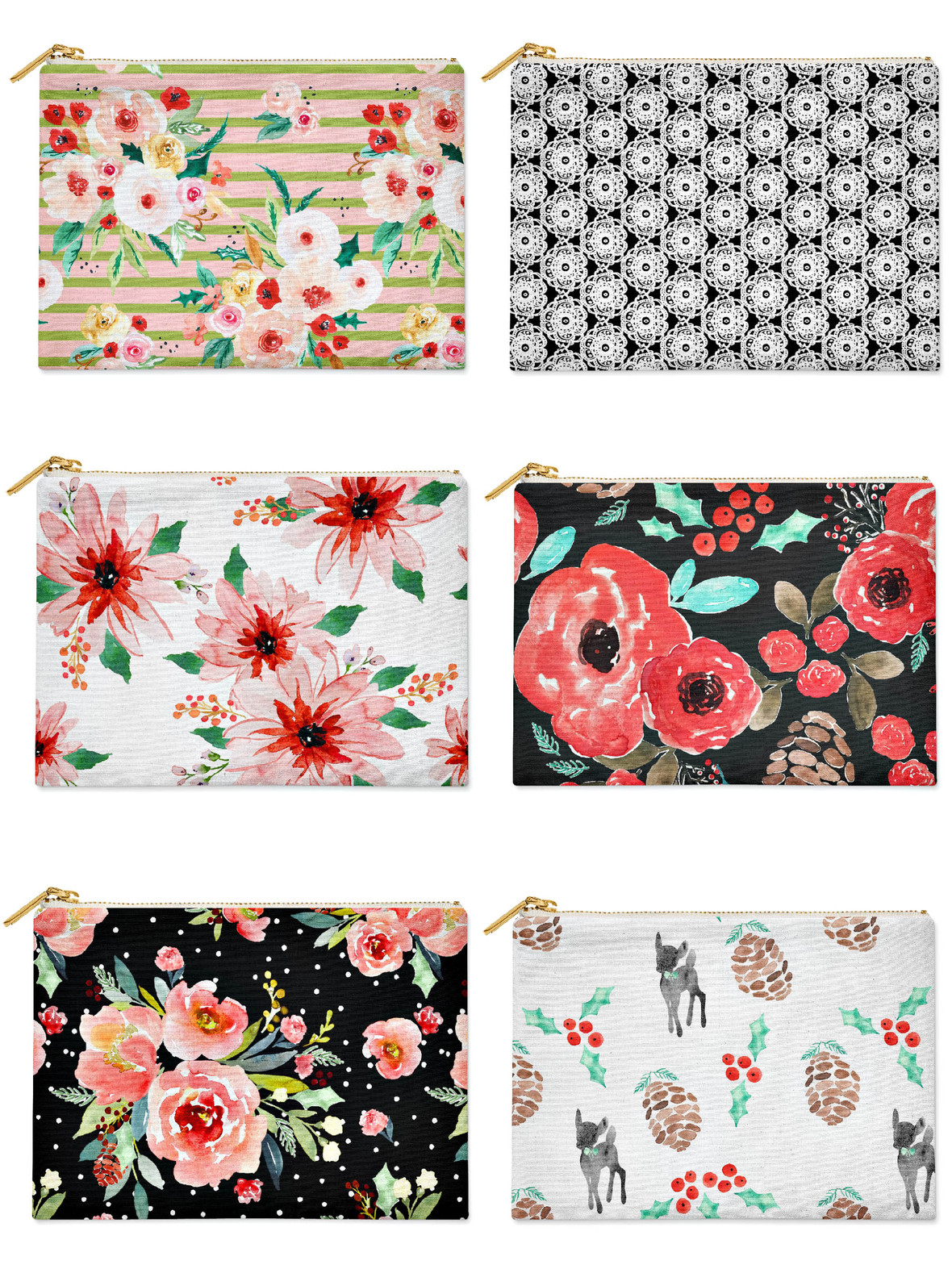 Indy Bloom Christmas Pouches