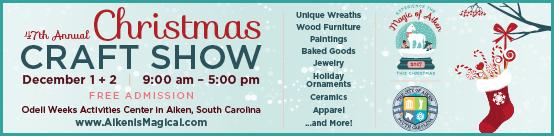 ChristmasCraftShow 554x136 Gardener Guides