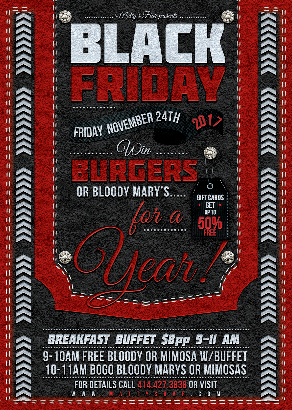 Black Friday Flyer Template