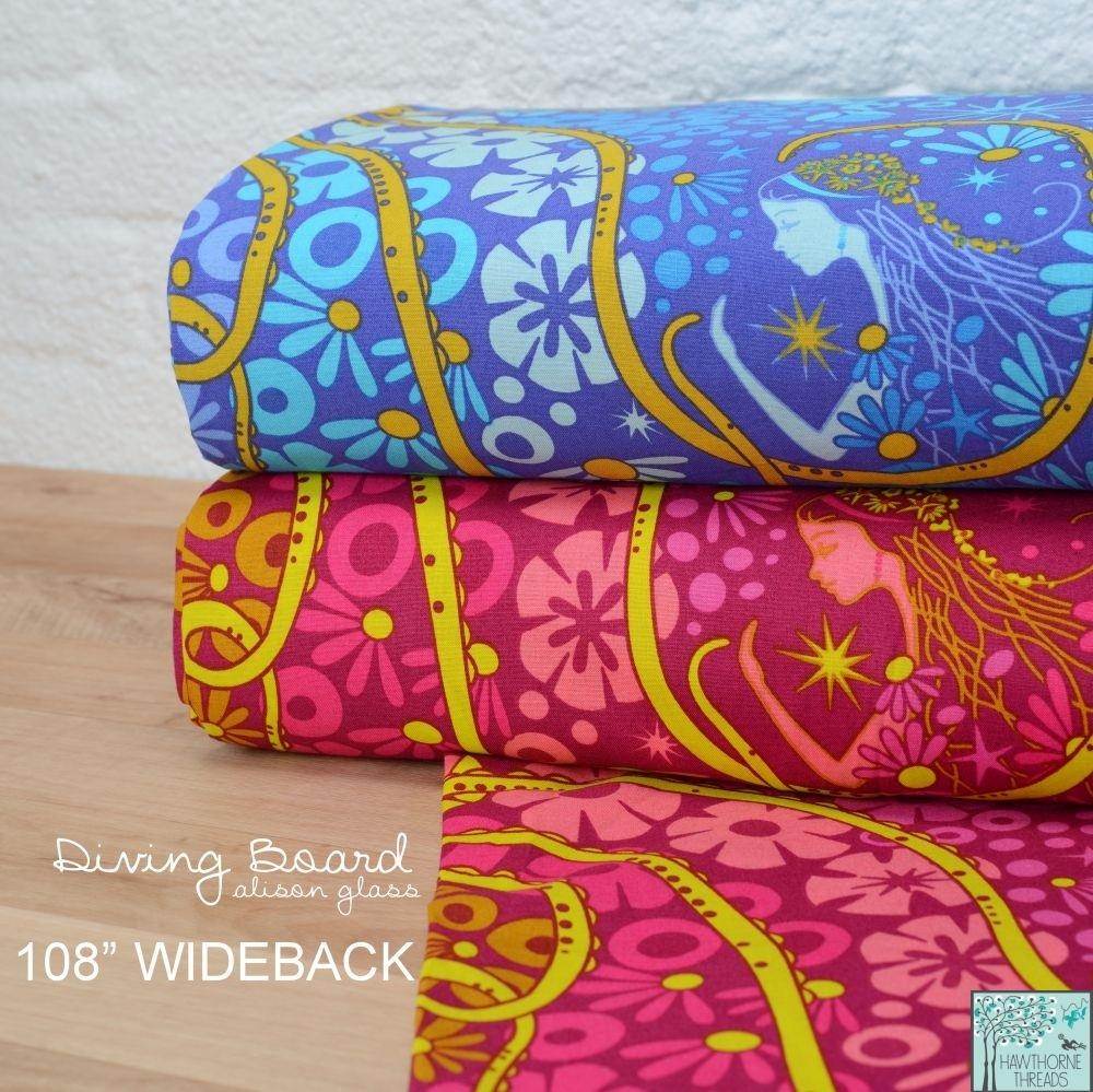 Diving Board Wideback fabric
