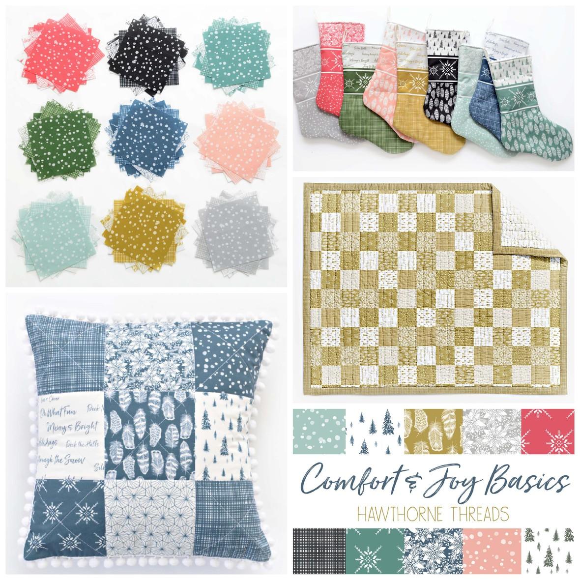 Comfort and Joy Basics Christmas Fabric