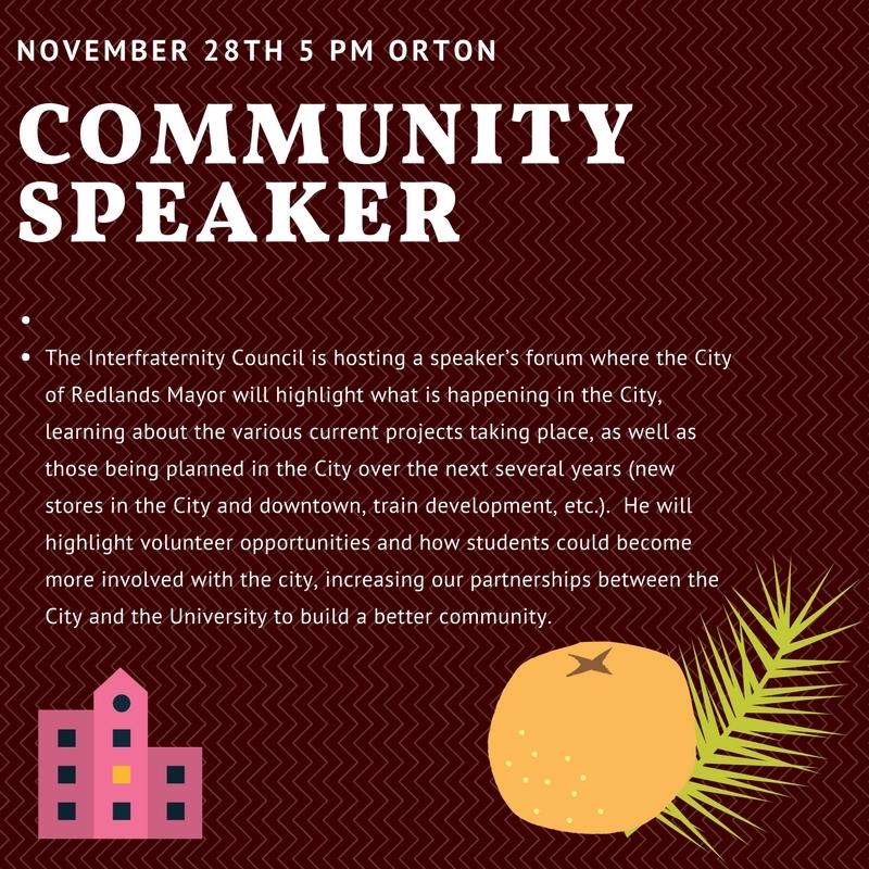 IFC Community Speaker