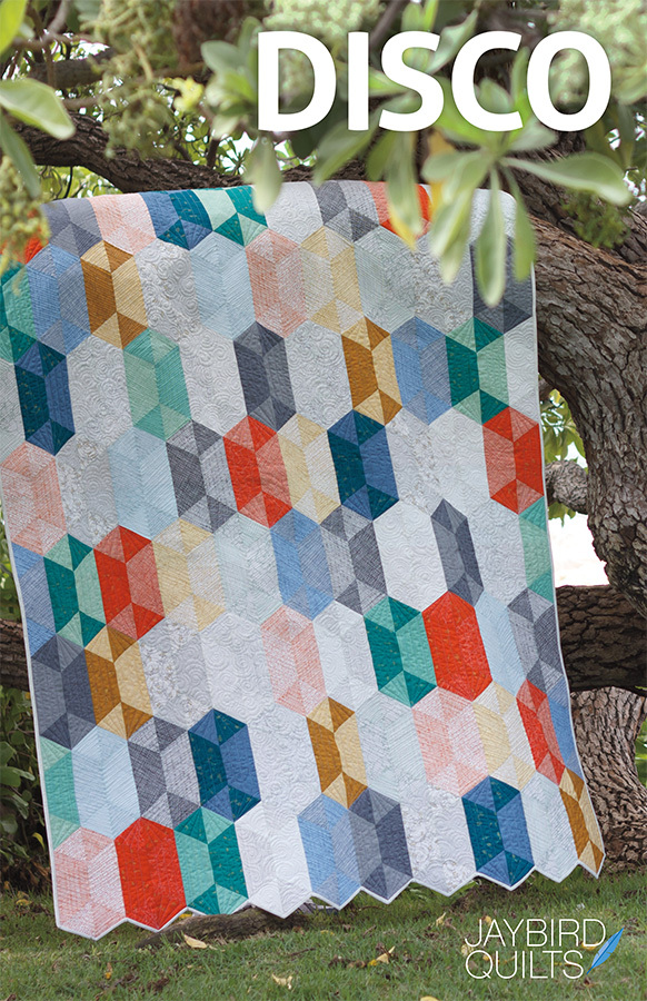 jaybird quilts  disco sewing pattern