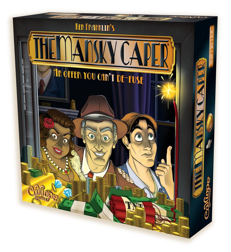 The Mansky Caper -  Calliope Games