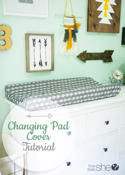 howdoesshe- Changing Pad Cover Tutorial