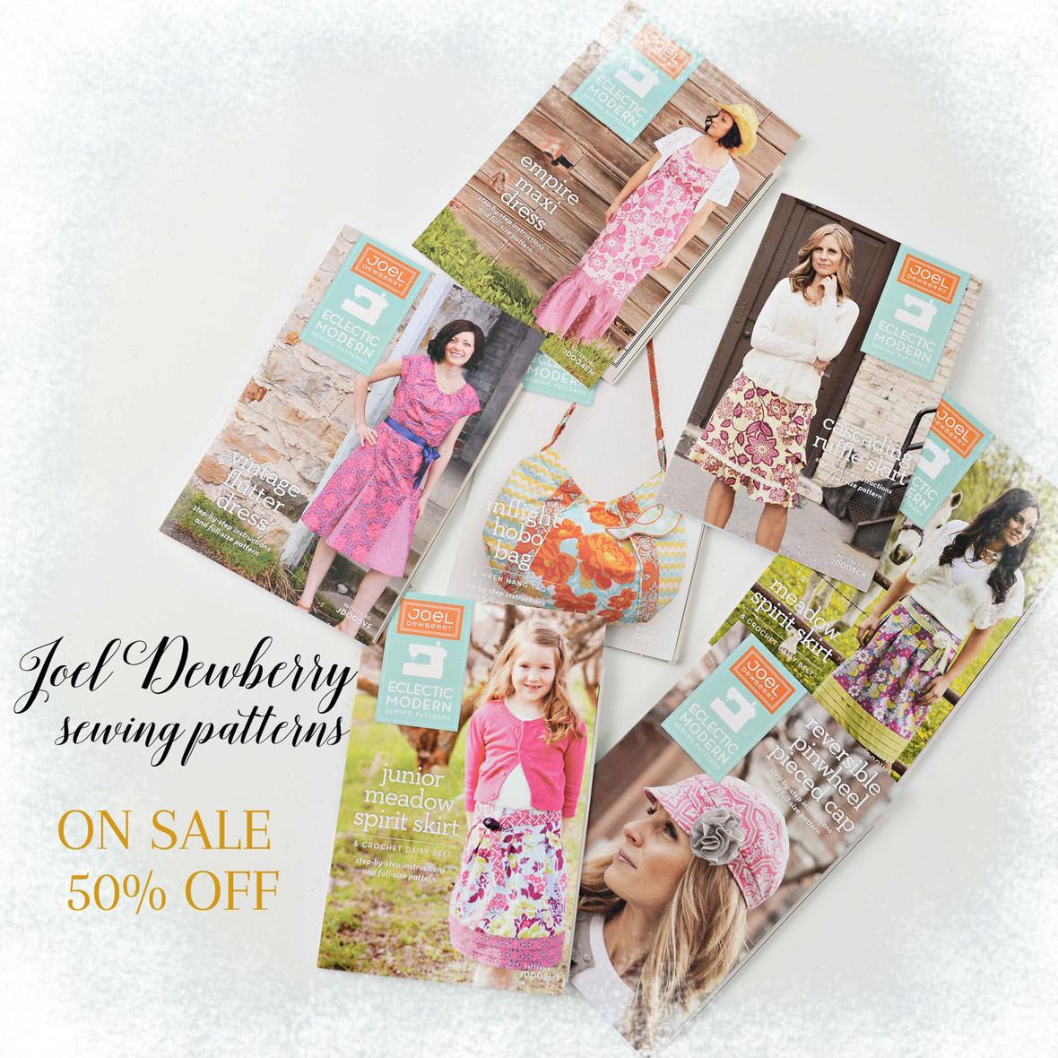 Joel Dewberry Patterns On Sale with frosty border 6x6