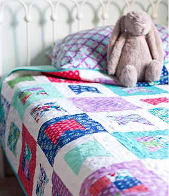 allison harris celebrate quilt kit sewing pattern