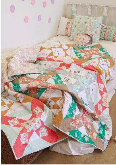 bari j ackerman melodic quilt kit sewing pattern