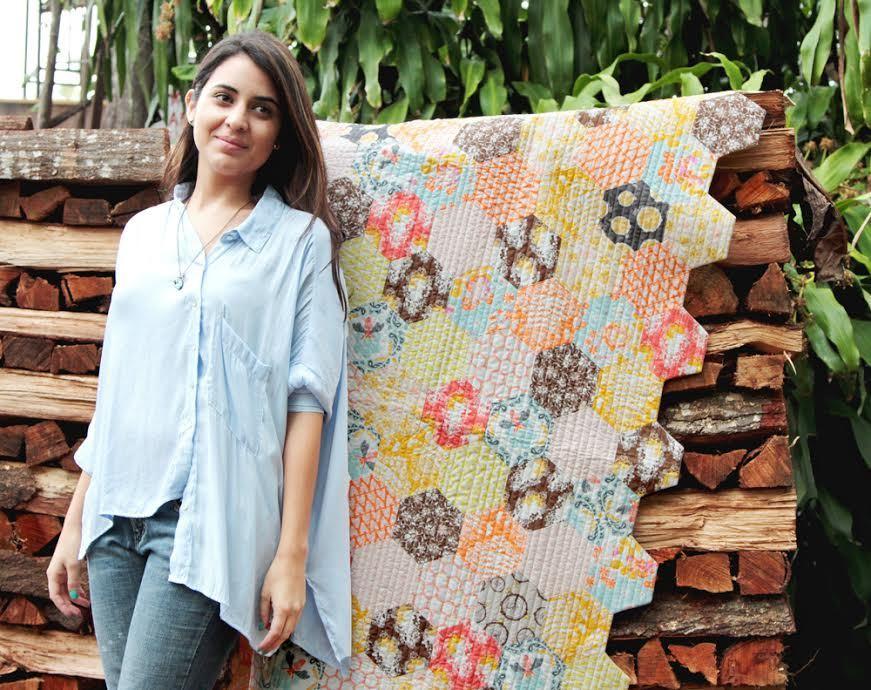 bonnie christine honey pot quilt kit sewing pattern