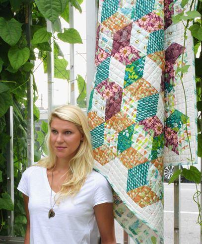 bonnie christine terrarium quilt kit sewing pattern