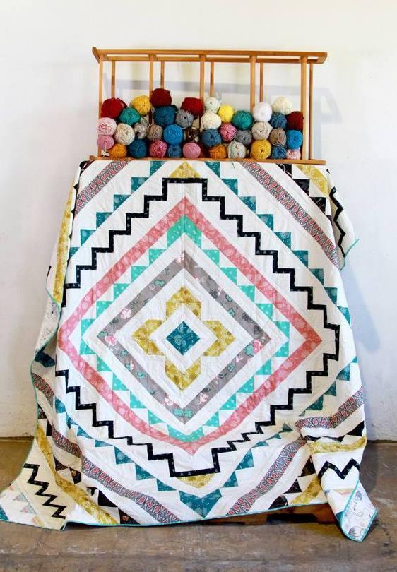 patricia bravo soulful windows quilt kit sewing pattern