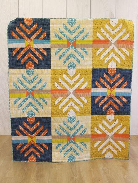 patricia bravo timeworn inscription quilt kit sewing pattern