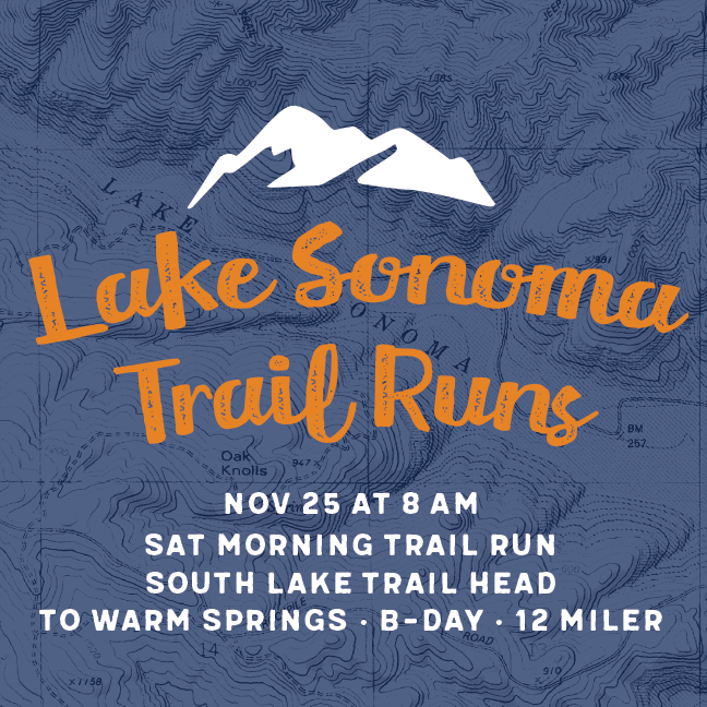 lake sonoma trail runs