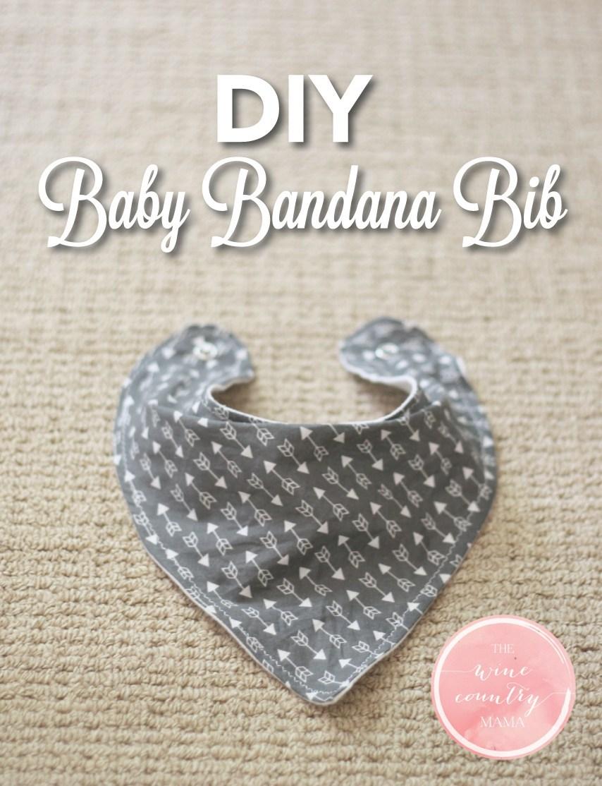 thewinecountrymama- free bandana tutorial