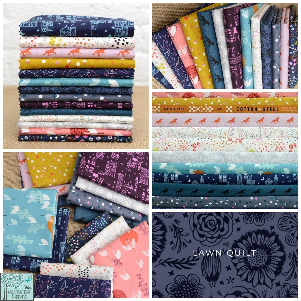 Lawn Quilt Fabric Poster