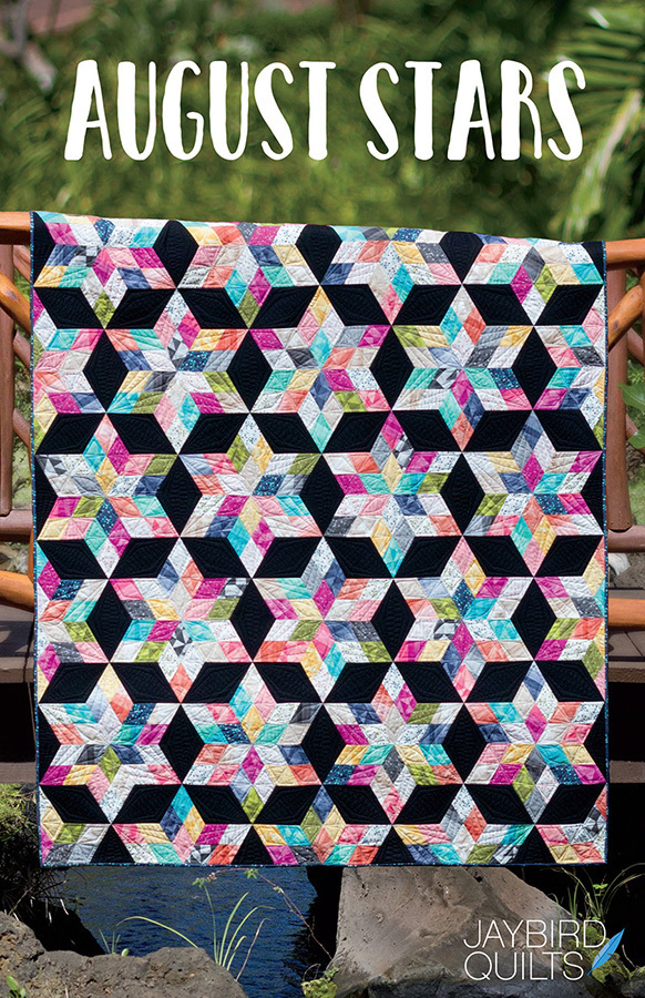jaybird quilts  august stars sewing pattern