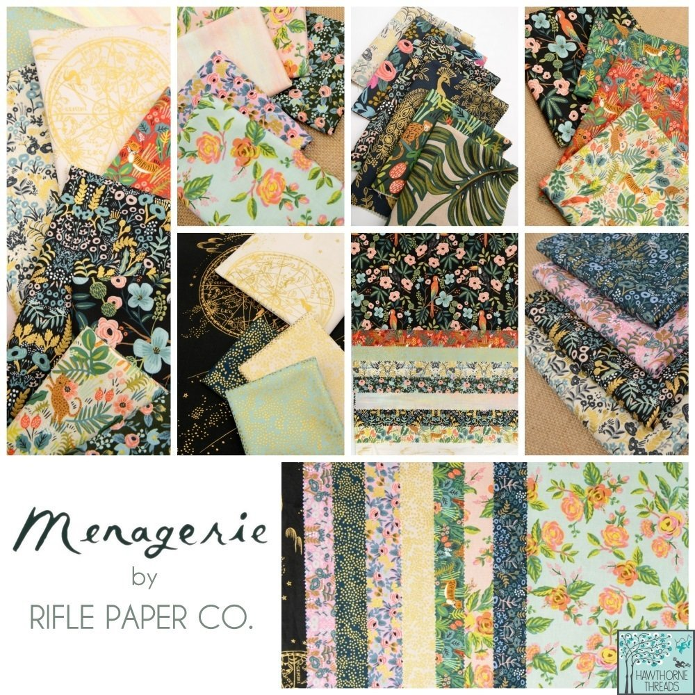 Menagerie Fabric Rifle Paper