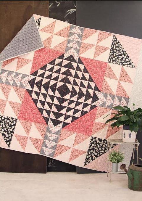 amy sinibaldi queen street quilt kit sewing pattern