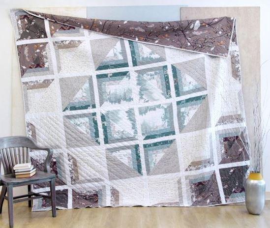 katarina roccella windowscape quilt kit sewing pattern
