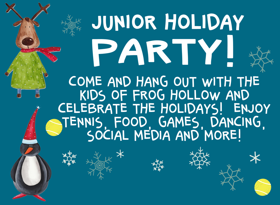 Jr Holiday Party Email Header