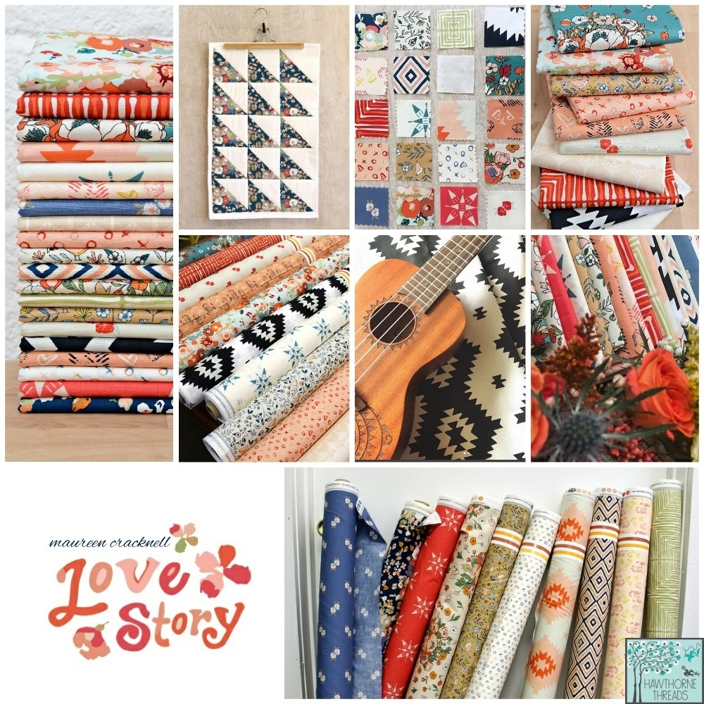 Love Story Fabric poster