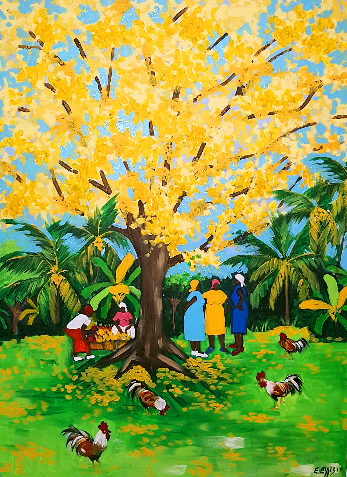 YELLOW-POUI-TREE
