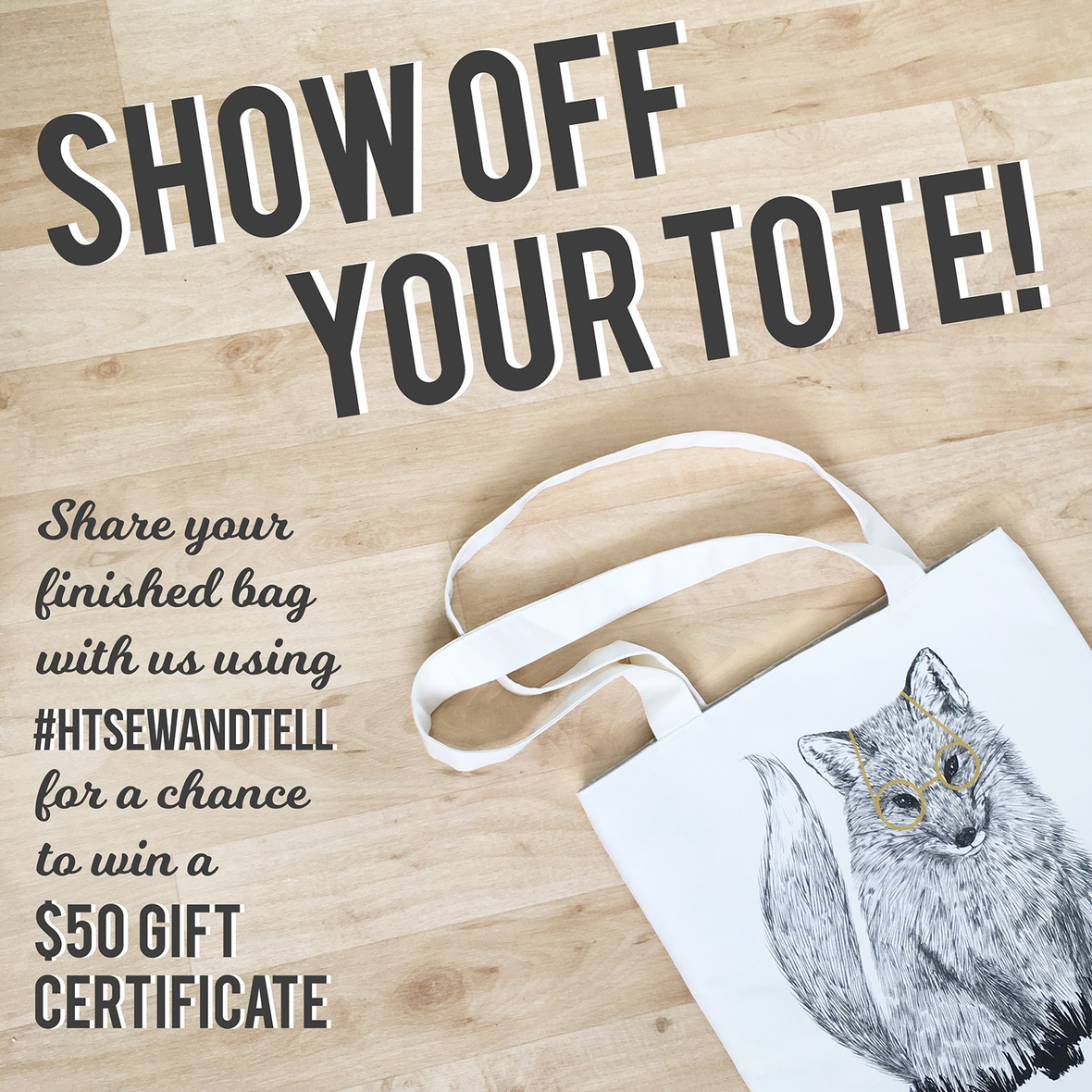 Show Off your Tote Contest Image