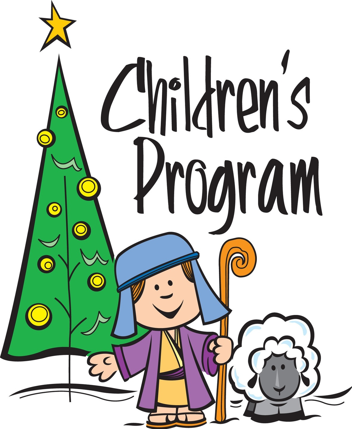 SS Christmas Program clipart