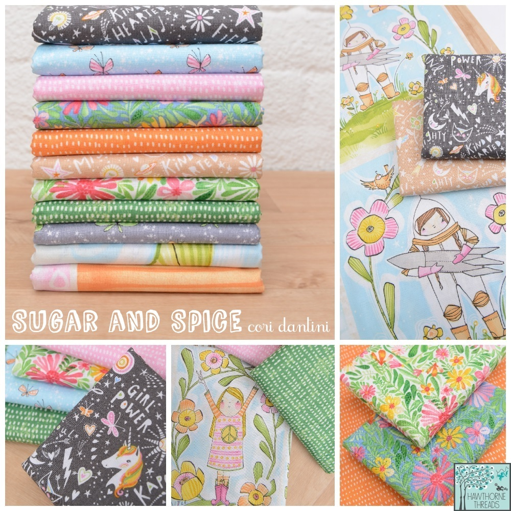 Sugar and Spice Fabric poster