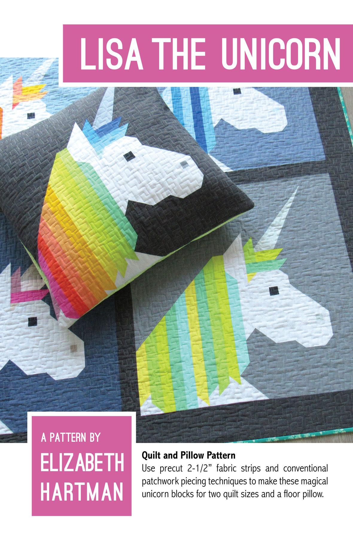elizabeth hartman lisa the unicorn sewing pattern
