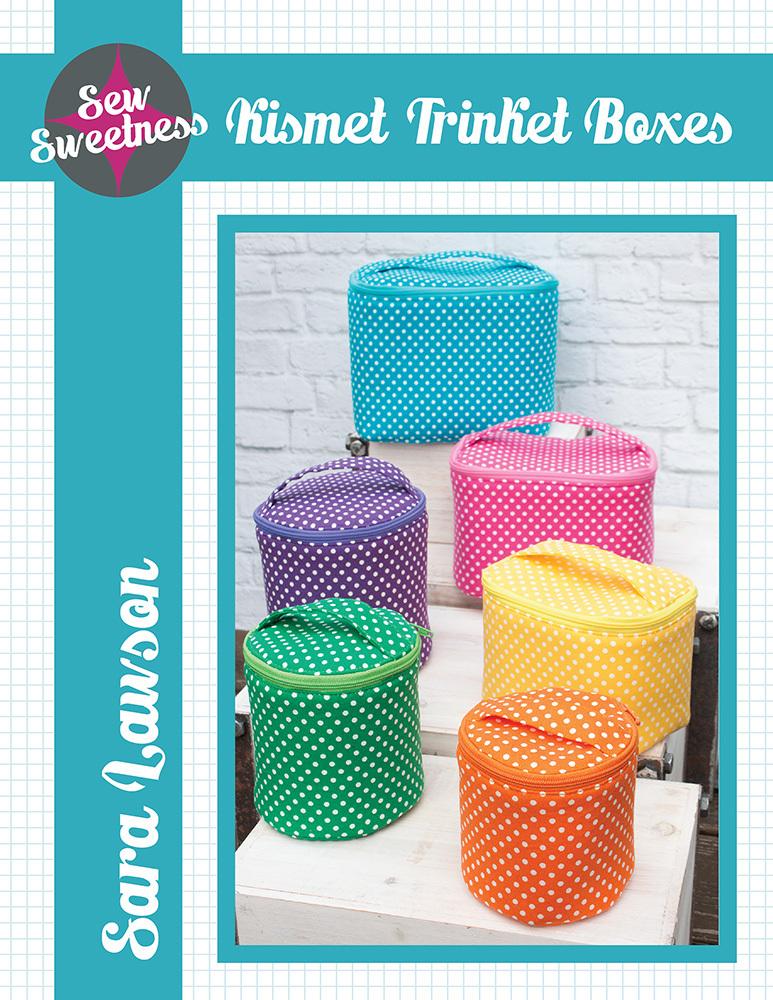 sew sweetness  kismet trinket boxes sewing pattern