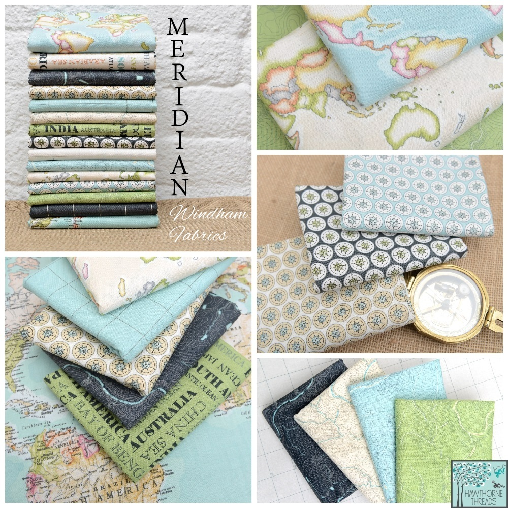 Meridian Fabric Poster