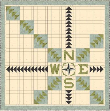 Windham Off the Grid Quilt by Natalie Crabtree